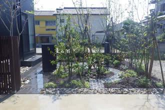 T邸庭園工事