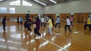 太極拳教室4