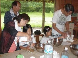 紫蘇漬、シロップ作り (10)