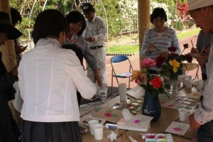 バラの絵画教室