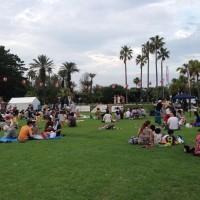 さっそく「いこや おどろや青海祭り'わしょい'」で広場は大賑わい(=^・^=)