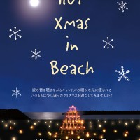 H28.12 HOT Xmas in Beach A4チラシおもてout