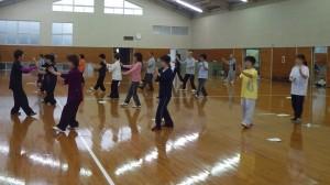 太極拳教室3