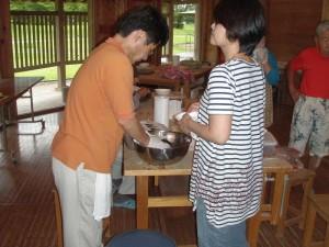 紫蘇漬、シロップ作り (6)