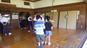 弓道体験教室4