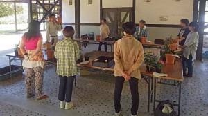 寄植教室1