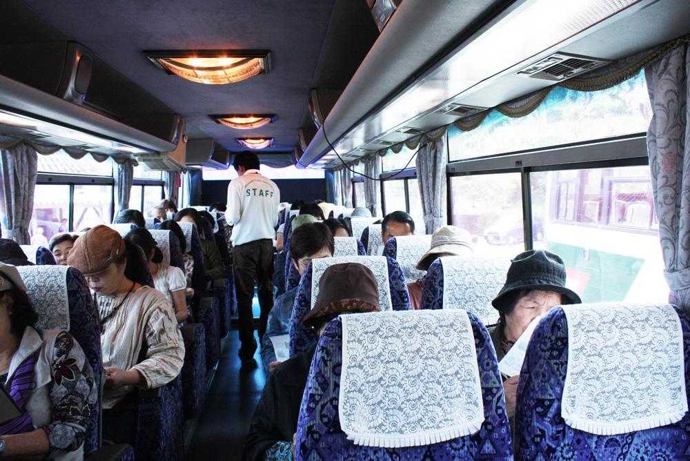 バス内写真