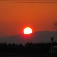 西都原の夕焼け (2)